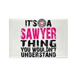 Sawyer Thing Rectangle Magnet