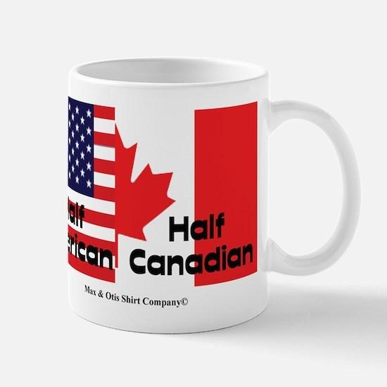 Half American-Half Canadian Mug