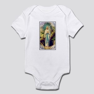 Virgin Mary - Lourdes Infant Creeper
