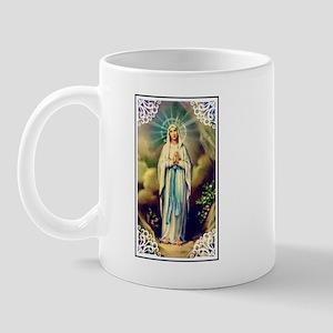 Virgin Mary - Lourdes Mug