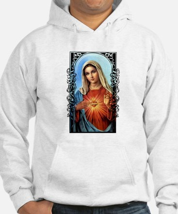 Virgin Mary - Sacred Immaculate Heart Hoodie
