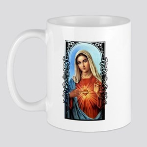 Virgin Mary - Sacred Immaculate Heart Mug