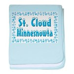 St. Cloud Minnesnowta baby blanket