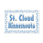 St. Cloud Minnesnowta Mini Poster Print