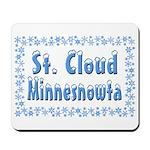 St. Cloud Minnesnowta Mousepad
