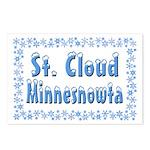 St. Cloud Minnesnowta Postcards (Package of 8)