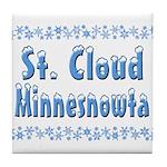 St. Cloud Minnesnowta Tile Coaster