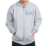 St. Cloud Minnesnowta Zip Hoodie