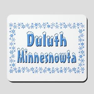Duluth Minnesnowta Mousepad