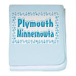 Plymouth Minnesnowta baby blanket