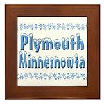Plymouth Minnesnowta Framed Tile