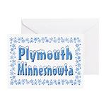 Plymouth Minnesnowta Greeting Card