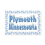 Plymouth Minnesnowta Mini Poster Print