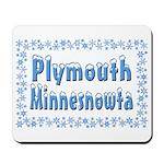 Plymouth Minnesnowta Mousepad