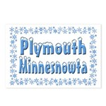 Plymouth Minnesnowta Postcards (Package of 8)