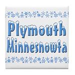 Plymouth Minnesnowta Tile Coaster
