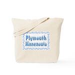 Plymouth Minnesnowta Tote Bag