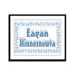 Eagan Minnesnowta Framed Panel Print