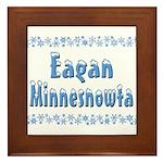 Eagan Minnesnowta Framed Tile