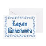 Eagan Minnesnowta Greeting Cards (Pk of 20)