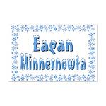 Eagan Minnesnowta Mini Poster Print