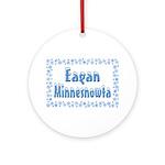 Eagan Minnesnowta Ornament (Round)