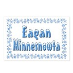 Eagan Minnesnowta Postcards (Package of 8)