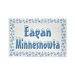 Eagan Minnesnowta Rectangle Magnet (10 pack)