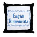 Eagan Minnesnowta Throw Pillow