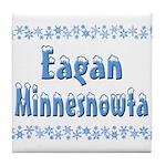 Eagan Minnesnowta Tile Coaster