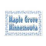 Maple Grove Minnesnowta Mini Poster Print