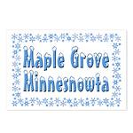 Maple Grove Minnesnowta Postcards (Package of 8)