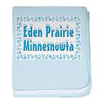 Eden Prairie Minnesnowta baby blanket