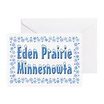 Eden Prairie Minnesnowta Greeting Card