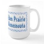 Eden Prairie Minnesnowta Large Mug