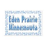 Eden Prairie Minnesnowta Mini Poster Print