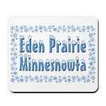 Eden Prairie Minnesnowta Mousepad