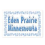 Eden Prairie Minnesnowta Postcards (Package of 8)