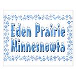 Eden Prairie Minnesnowta Small Poster