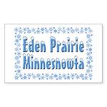 Eden Prairie Minnesnowta Sticker (Rectangle 50 pk)