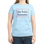 Eden Prairie Minnesnowta Women's Light T-Shirt