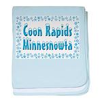 Coon Rapids Minnesnowta baby blanket