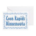 Coon Rapids Minnesnowta Greeting Cards (Pk of 20)