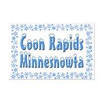 Coon Rapids Minnesnowta Mini Poster Print
