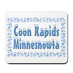 Coon Rapids Minnesnowta Mousepad