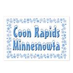 Coon Rapids Minnesnowta Postcards (Package of 8)