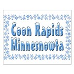 Coon Rapids Minnesnowta Small Poster