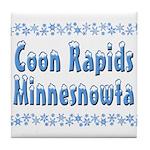 Coon Rapids Minnesnowta Tile Coaster