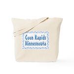 Coon Rapids Minnesnowta Tote Bag