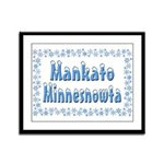 Mankato Minnesnowta Framed Panel Print